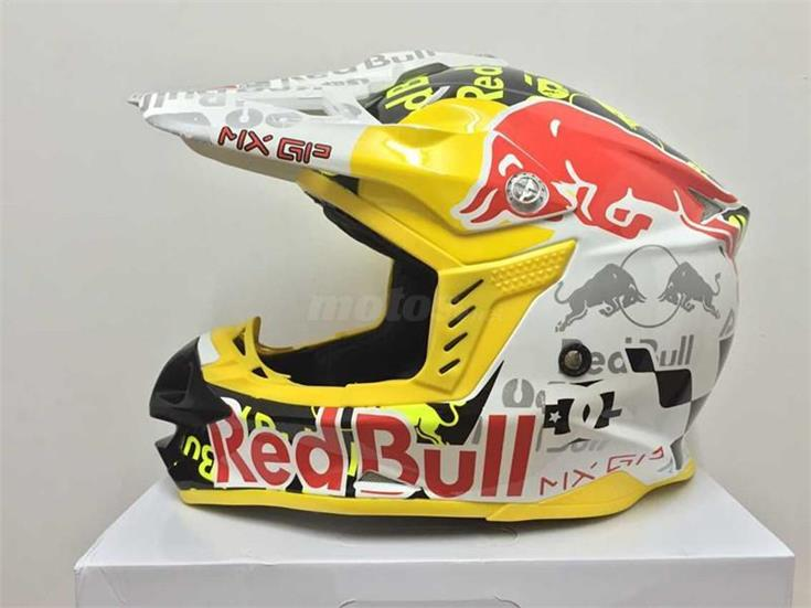 CASCO RED BULL CROSS ENVIO GRATIS