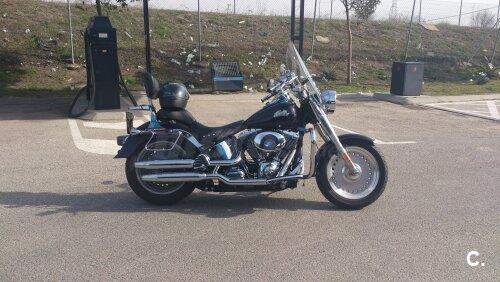 HARLEY DAVIDSON Softail Fat Boy Peace Officer