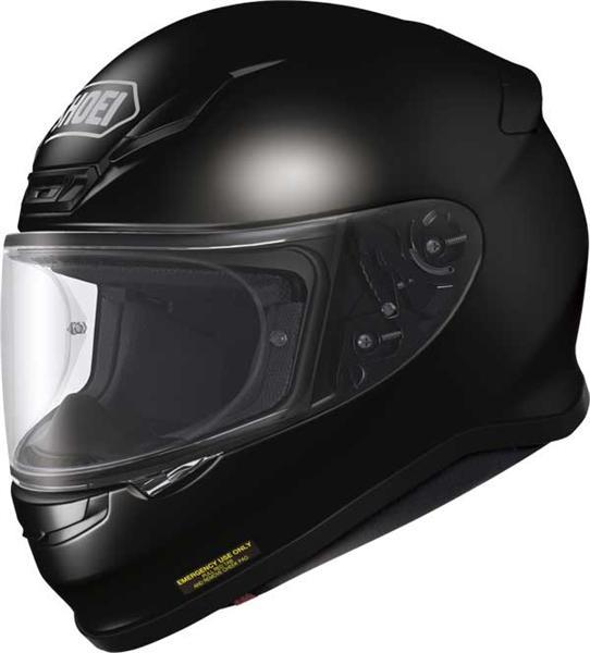 cascos SHOEI NXR negro brillo
