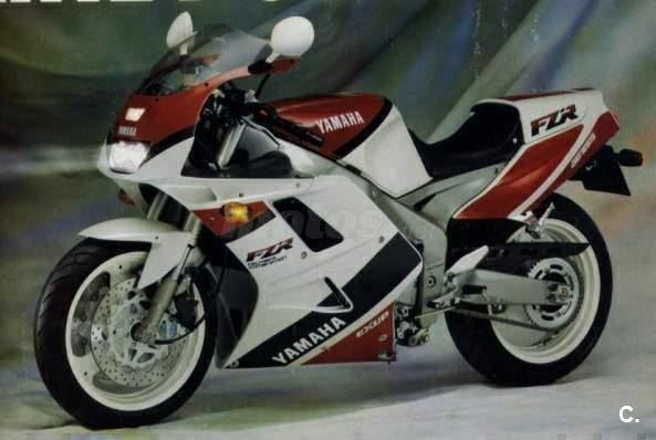 Laterales carenado Yamaha Exup 92