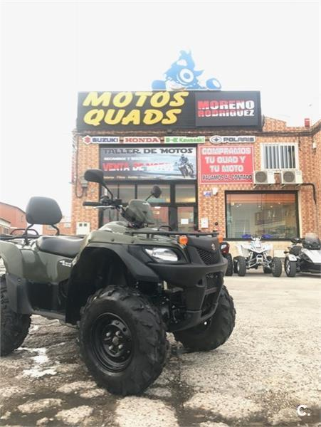 SUZUKI KING QUAD 450 2 PLAZAS