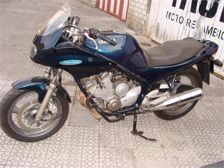 Yamaha Diversion 600, vendo por piezas