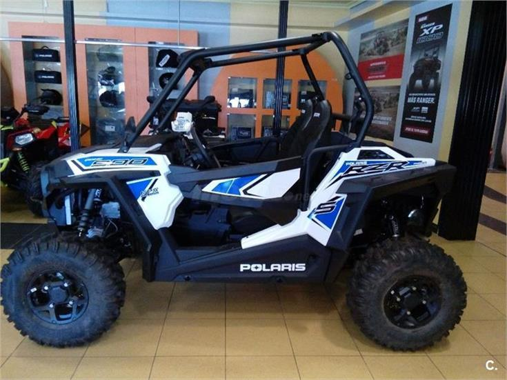 POLARIS RZR S 900 EPS White Lightning EU