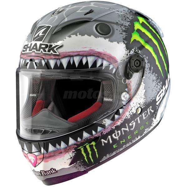 cascos SHARK RACE R PRO WHITE SHARK