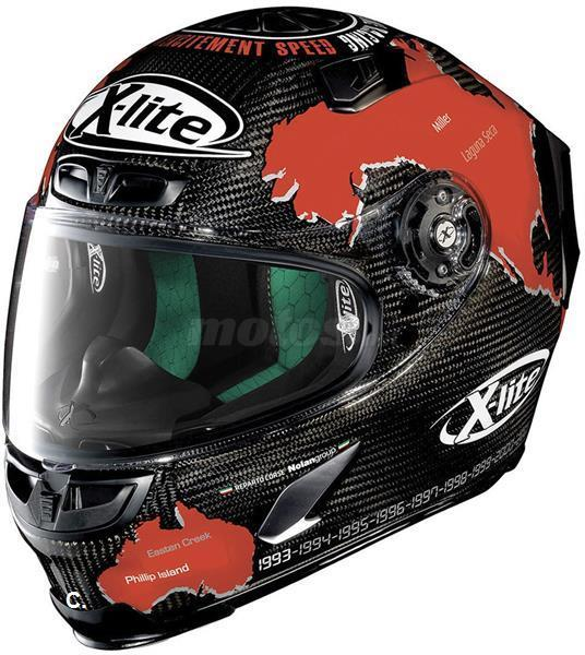 cascos XLITE 803 CARBON replica CHECA 2018