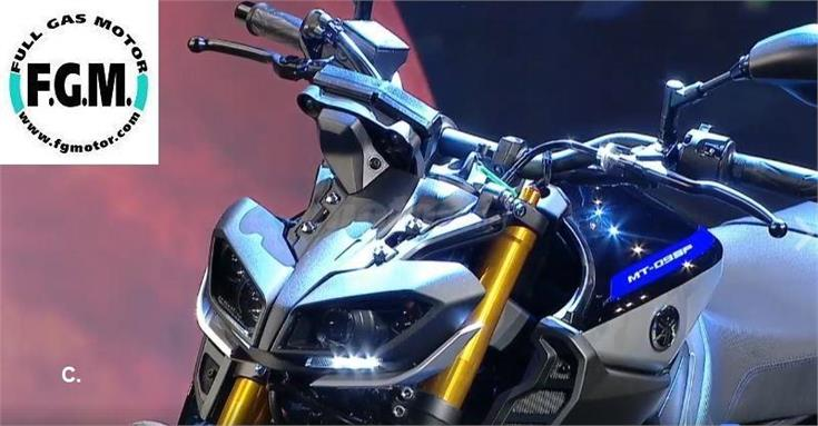 YAMAHA MT 09 SP