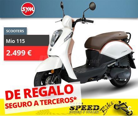 SYM Mio 115