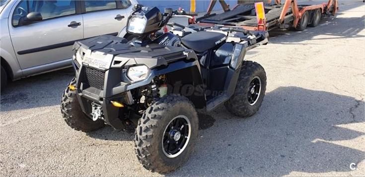 POLARIS SPORTSMAN 570 BLACK LIMITED EDITION