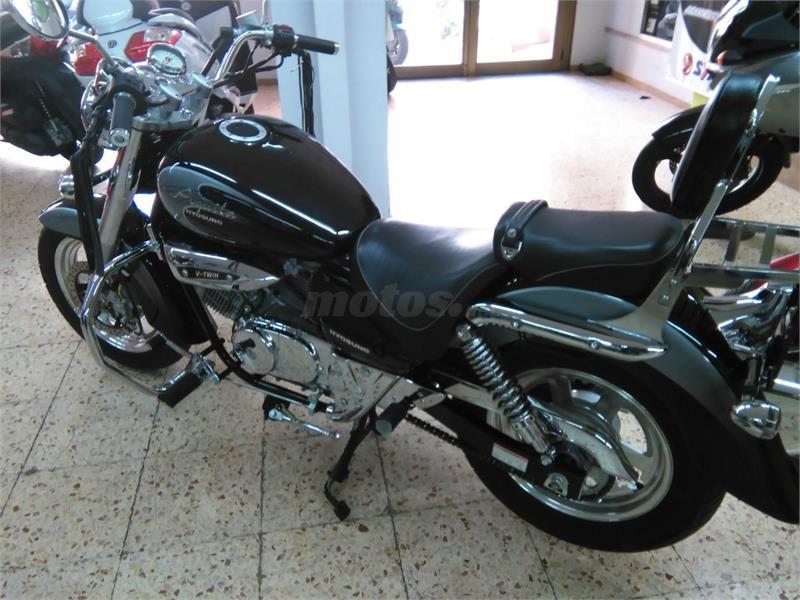 Motos hyosung gv 125 aquila de segunda mano for Gasolina barata tenerife