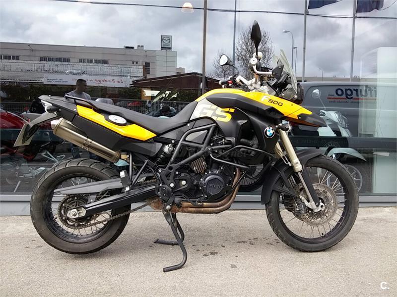 Bmw f 800 gs 798 de color amarilla del a o 2008 con 38000km madrid 6176675 - Cabo rufino lazaro ...