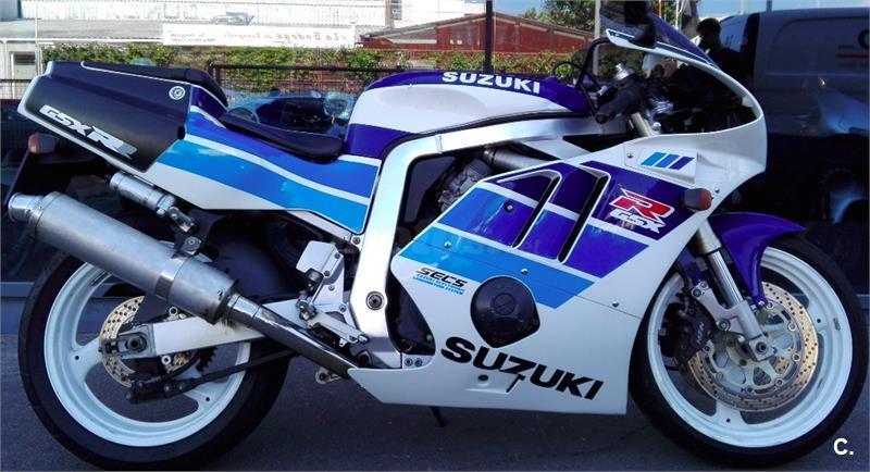 Suzuki gsx 400 400 de color azul del a o 1991 con 24000km madrid 6247472 - Cabo rufino lazaro ...