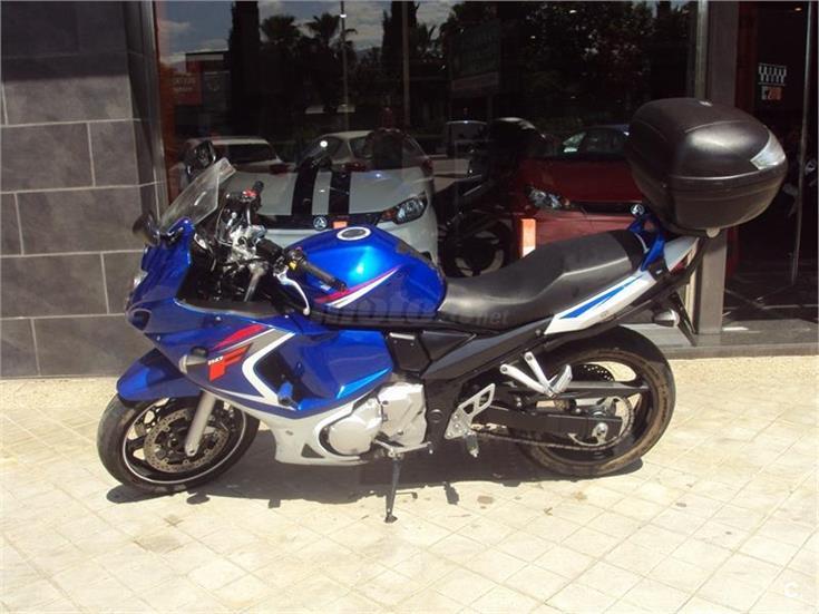 Suzuki gsx 650 f 650 de color azul del a o 2008 con 59495km granada 6731928 - Coches por 100 euros al mes sin entrada ...