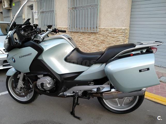 Bmw R 1200 Rt 1200 De Color Azul Cielo Del A 241 O 2011 Con 56000km Murcia 6826532