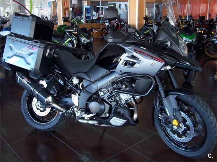 suzuki v strom 1000 trail abs gasolina de color gris del a o 2019 con 1km valencia nuevo 6894998. Black Bedroom Furniture Sets. Home Design Ideas