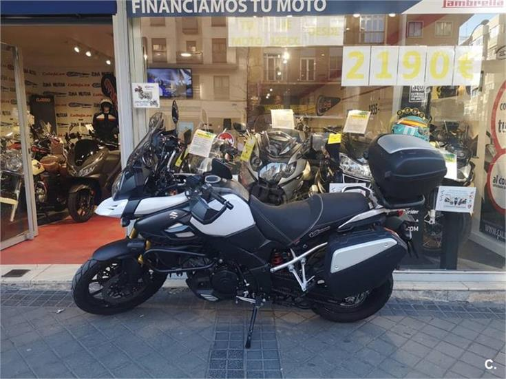 suzuki v strom 1000 1037 de color del a o 2014 con 23000km madrid 6895130. Black Bedroom Furniture Sets. Home Design Ideas