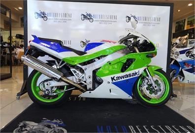 1990 Kawasaki ZXR750H2 brochure | Motocicletas, Motos