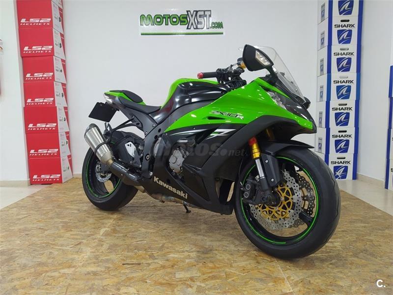 Se infla Proverbio bandera  Motos KAWASAKI zx 10r de segunda mano y ocasión, venta de motos usadas |  Motos.net
