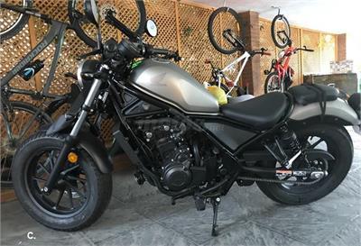 2 Motos Honda Rebel 500 De Segunda Mano Y Ocasión En Madrid Motos Net