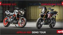 Convocatoria Aprilia 900 Demo Tour: ¡Pruébalas!