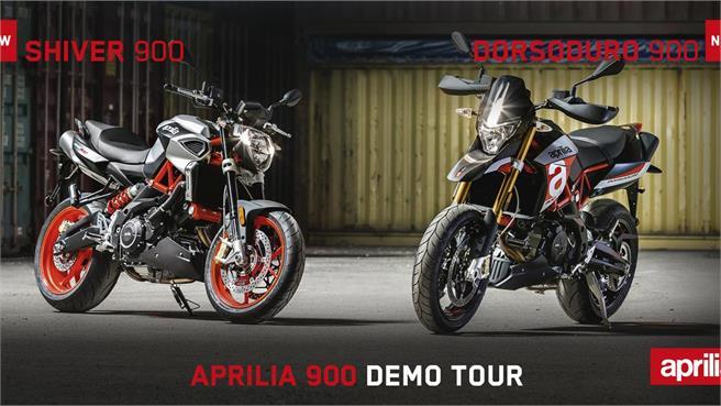 Convocatoria Aprilia 900 Demo Tour