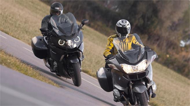 Comparativo:BMW K1600 GT vs BMW R1200 RT