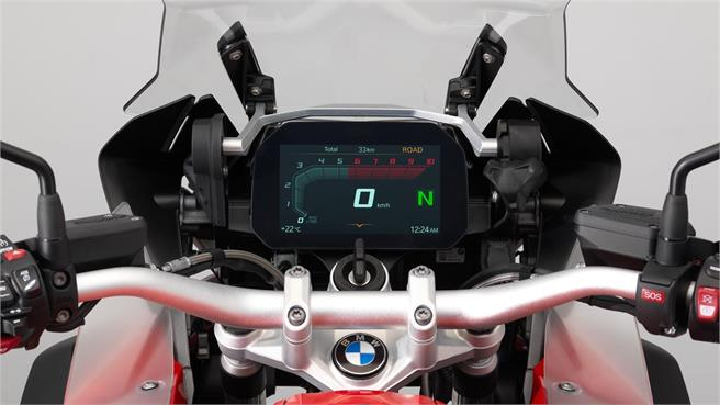 BMW Connected Ride: TFT en la trail GS