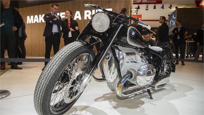 De la BMW Concept R 18 a la R 18 /2
