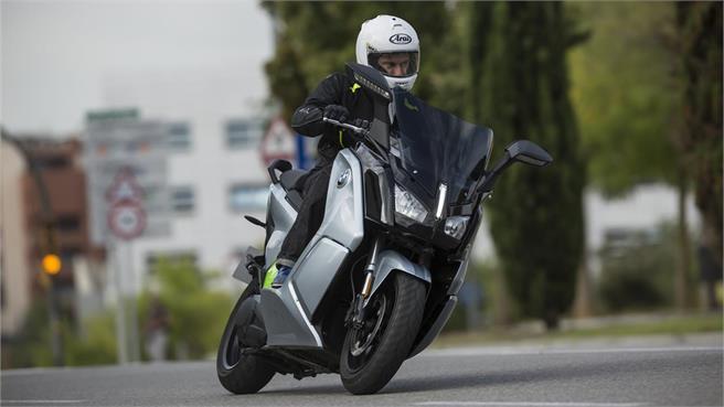 BMW C evolution Long Range 2017