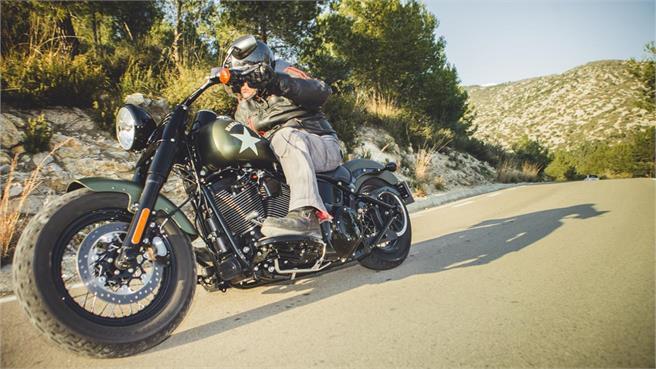 Harley estrella pulgar rueda
