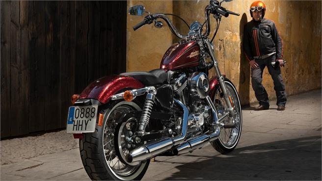 Pruebas Harley Davidson Sportster 2012 Noticias Motos Net