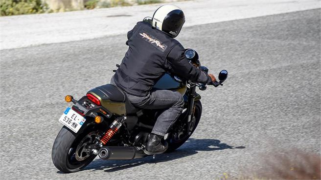 Harley Davidson Street Rod: La pequeña