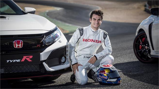 Pilotos del nuevo Honda Civic Type R