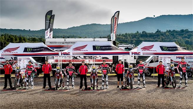 Monster Energy Honda Team 2018