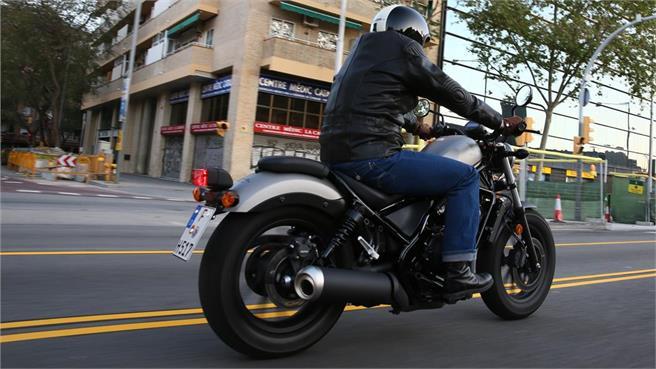 Honda Rebel: Custom de estilo propio