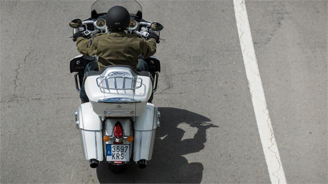 Indian Roadmaster: Lo máximo de la marca