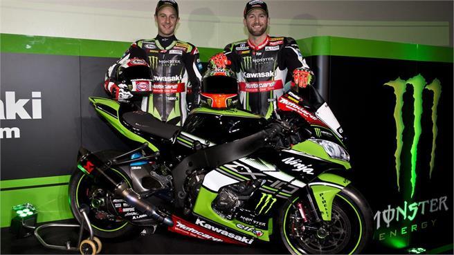 El Kawasaki Racing Team se presenta