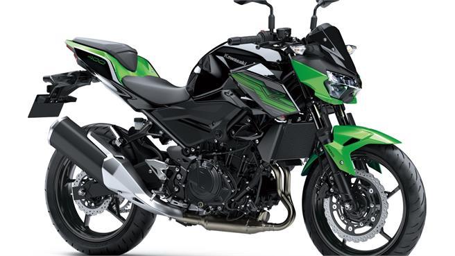 Kawasaki Z400: Ligera y potente naked