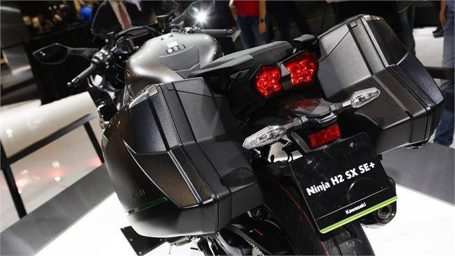 Kawasaki Ninja H2 SX SE+: + electrónica