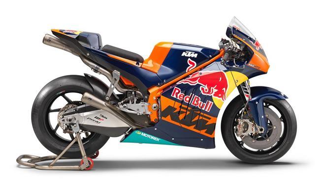 KTM preparada para MotoGP