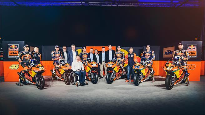 Presentación KTM Factory Racing MotoGP