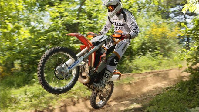 Presentación KTM gama enduro 2012