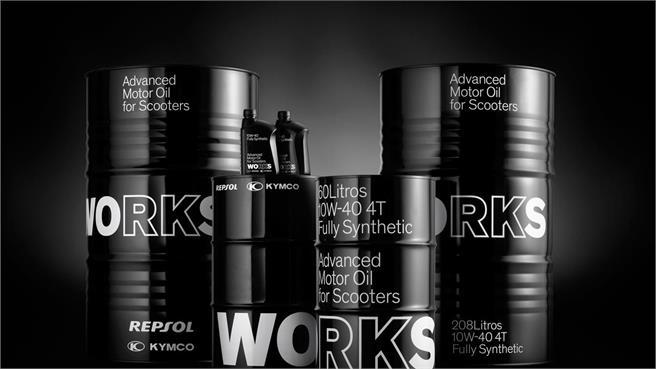 KYMCO y Repsol lanzan WORKS
