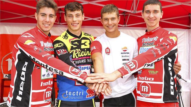 Montesa también se apoya a diferentes equipos internacionales