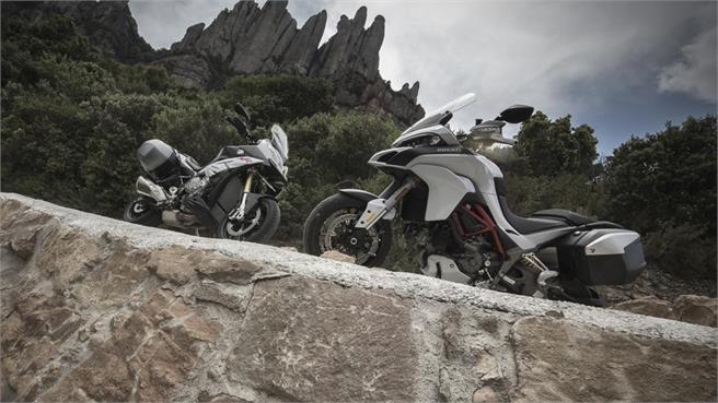 BMW S 1000 XR vs. Ducati Multistrada 1200 S
