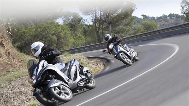 Piaggio Medley vs. Yamaha Tricity