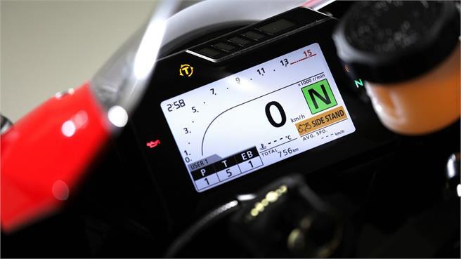Honda CBR 1000 RR Fireblade: esparada
