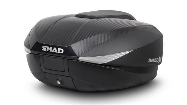 SHAD SH58X: Genuino 3 en 1