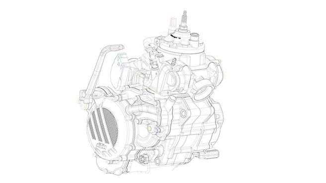 KTM fiel al 2T:  inyección electrónica