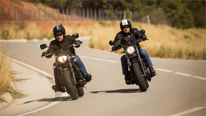 Honda Rebel y Vulcan S: Difícil elección