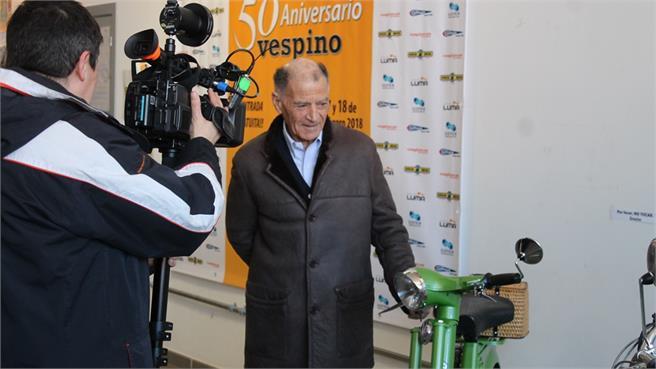 Exposición 50 años del Vespino